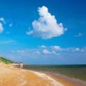 Пляжи в Кучугурах. Азовское море