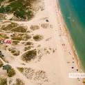 Пляжи в Витязево с высоты